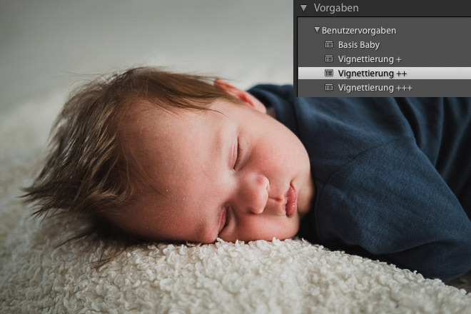 vignettierung presets lightroom